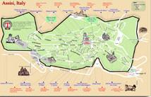 Assisi Map